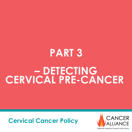 CA Cervical Cancer Toolkit 3- DETECTING CERVICAL PRE-CANCER-Cover