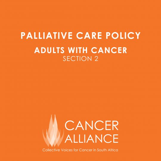 Palliative Care Policy Part 2-1